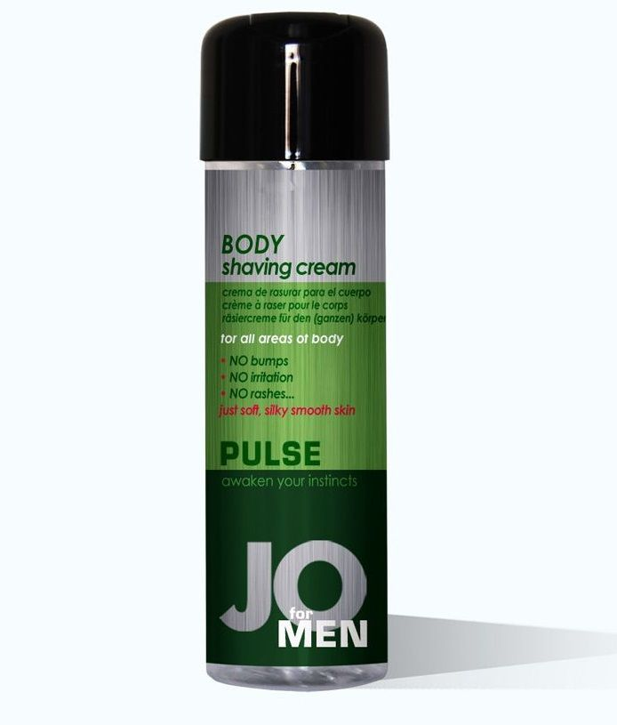 Крем для бритья JO Pulse Cucumber Male Body Shaving Cream - 240 мл.