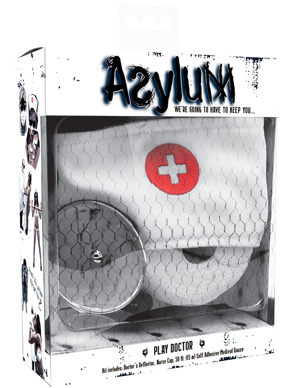 Набор доктора Asylum Play Doctor Kit – белый